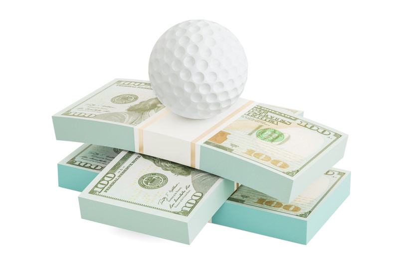 ゴルフにも賭ける